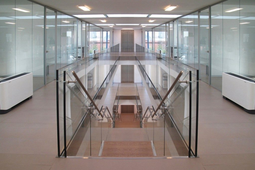 Designer demountable fitted wall partitions for offices Interior glass partition systems