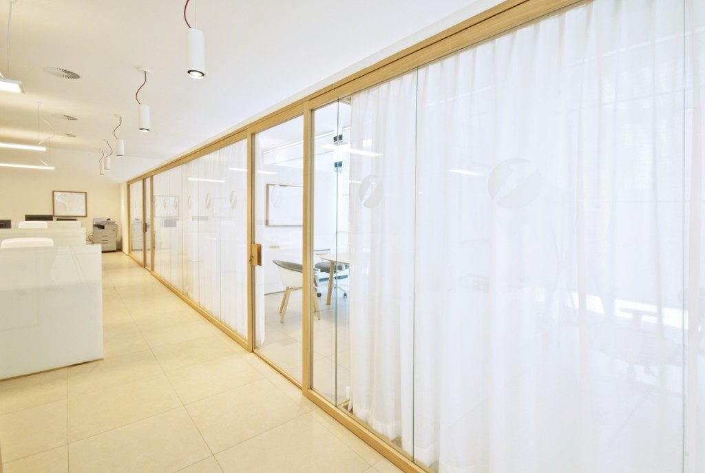Designer Demountable Fitted Wall Partitions For Offices Glass Partitions And Wood Partitions