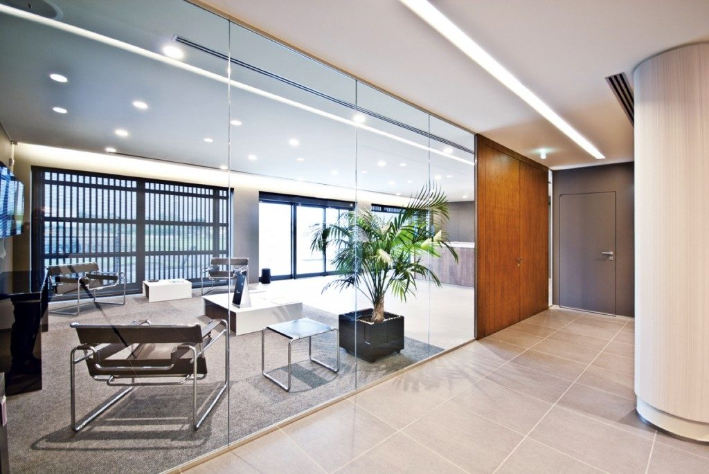 Designer demountable fitted wall partitions for offices Office partition walls with doors