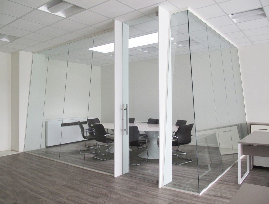 Geocarta designer demountable fitted wall partitions for Design ufficio vetro