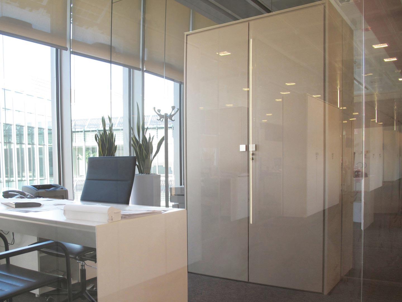 Confartigianato cesena designer demountable fitted wall for Pareti divisorie ufficio low cost