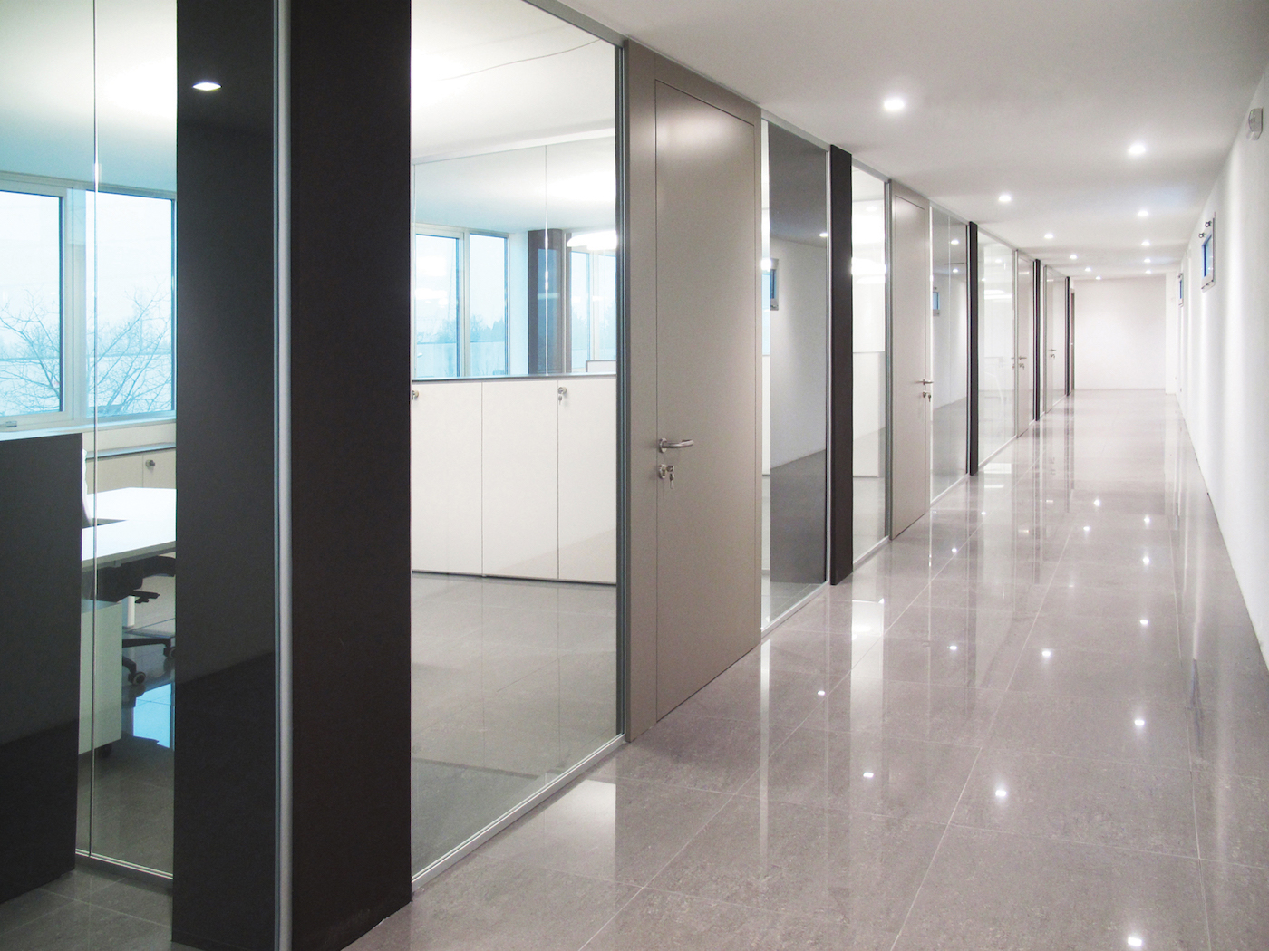 Povelato Designer Demountable Fitted Wall Partitions