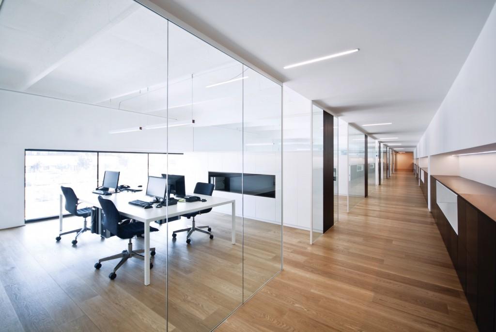 Pareti vetrate pareti manovrabili vetro temperato photo for Pareti ufficio prezzi