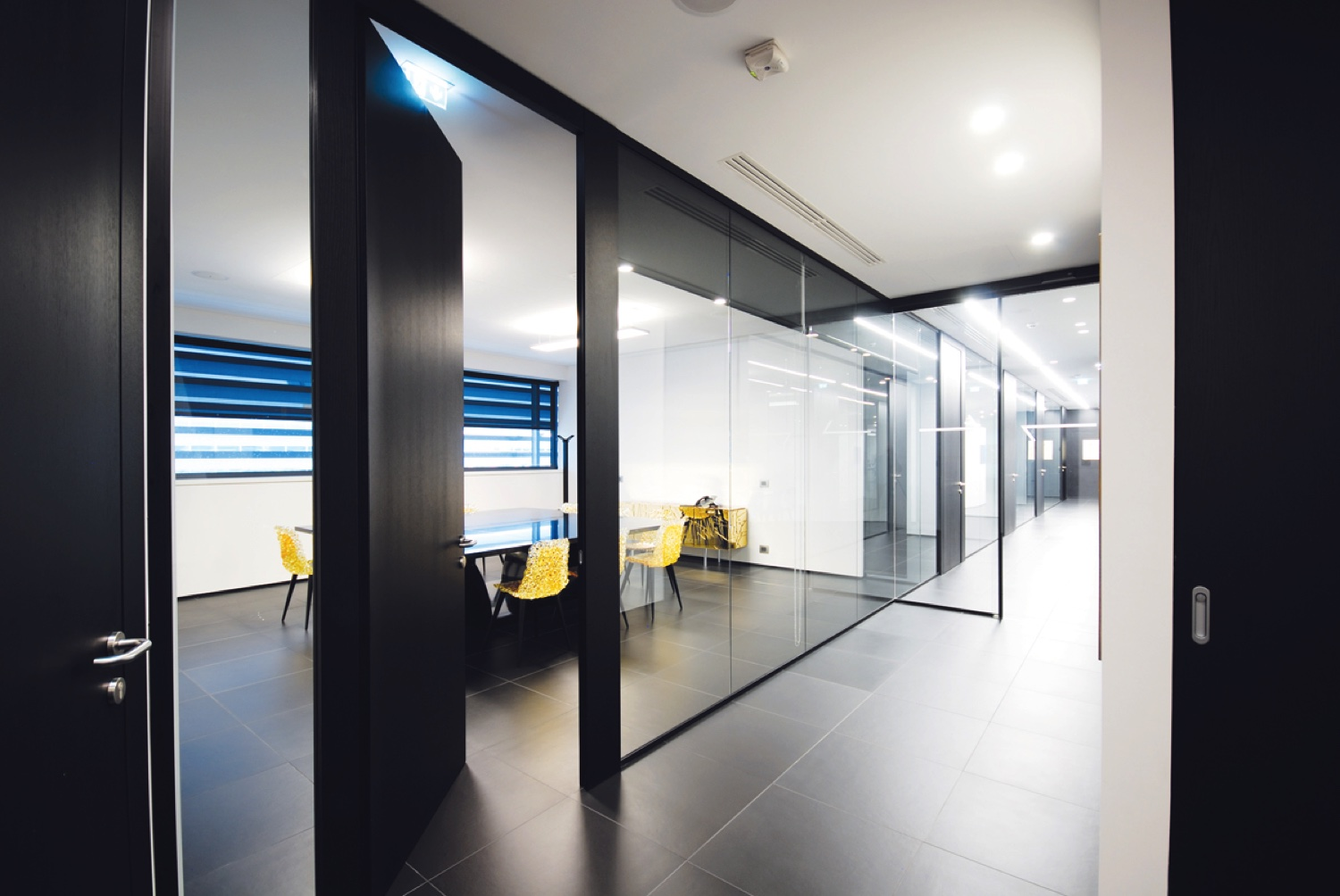 Designer Office Glass Partitions Designer Glass Classic And Modern