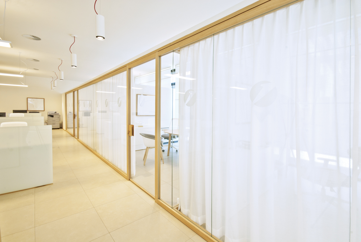 Partition Wall Glass Office Partitions Sliding Doors Aluminium