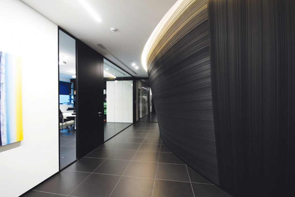 Uffici di bergamo designer demountable fitted wall Interior glass partition systems